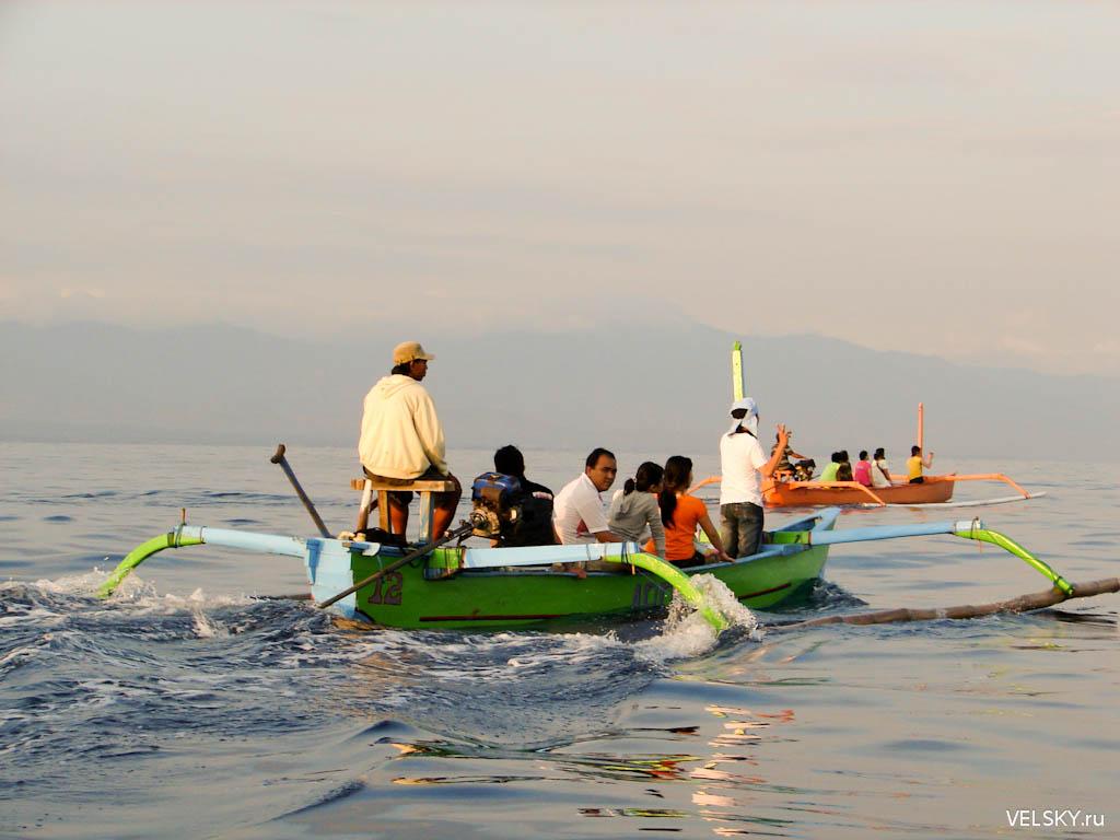 Тихий океан, море Бали