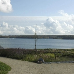 Озеро в Бельгии