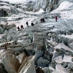 Тренировка на ледопаде