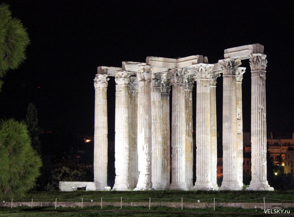 Олимпейон, Храм Зевса