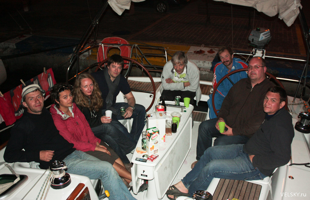 Boat number five. Бельгийцы