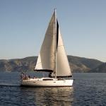 Наша лодка (вид сбоку)