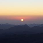 Рассвет на горе Моисея