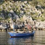 Стандартная рыбацкая лодка