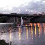 Мост МКАДа над Москва-рекой
